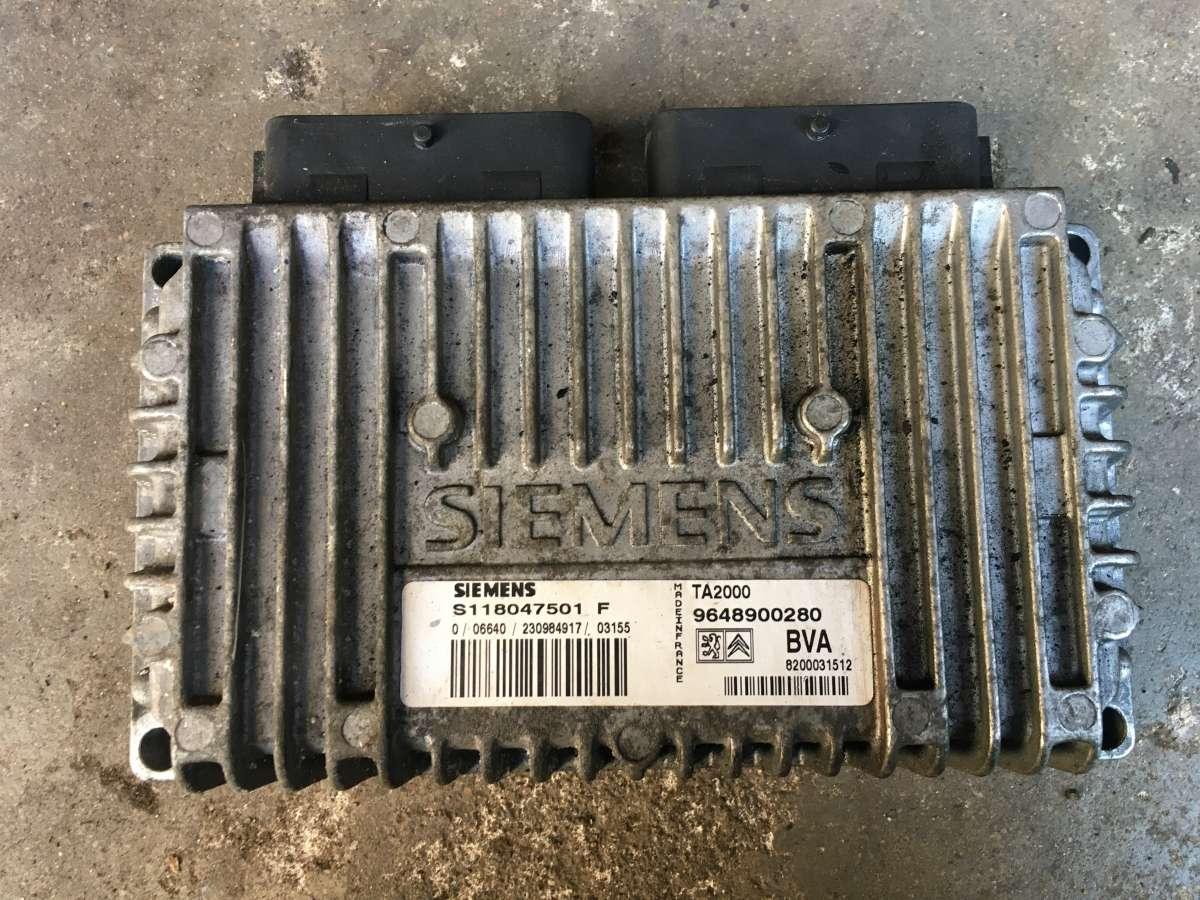 Блок управления АКПП Citroen Xsara S118047501F,9648900280