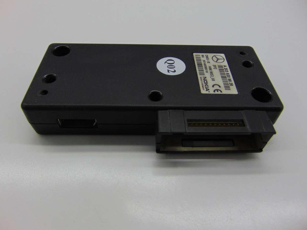 Блок управления телефоном Mercedes S W220 A2038209926