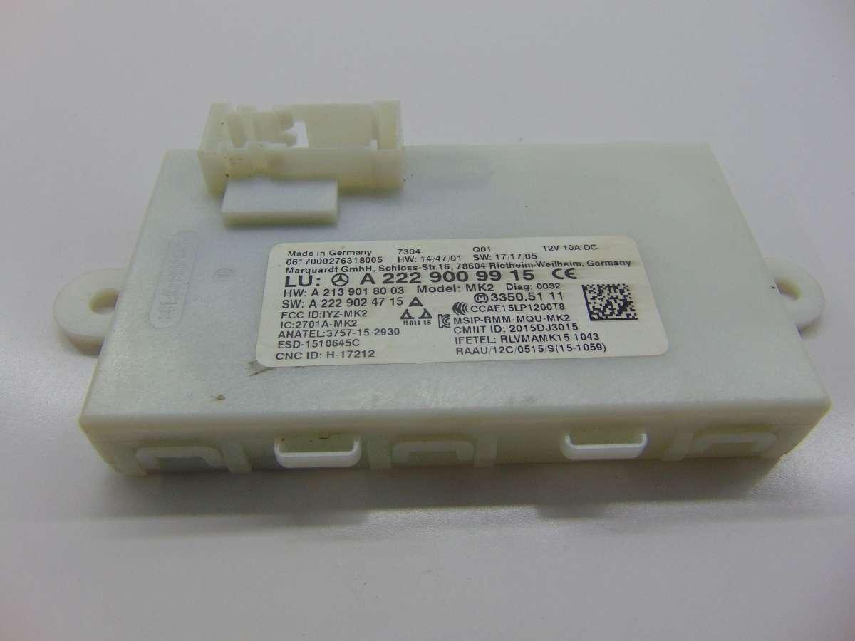 Блок управления бесключевым доступом Mercedes S W222 A2229009915