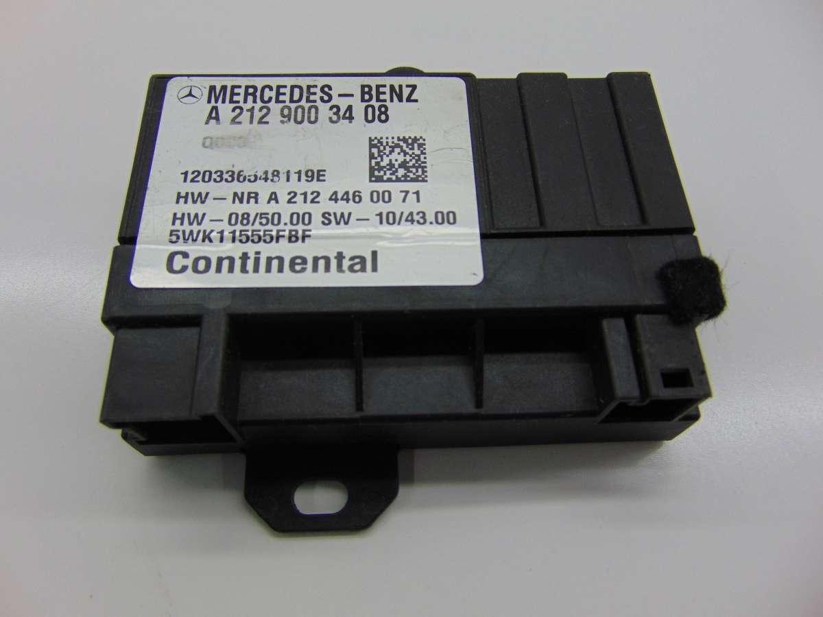 Блок управления ТНВД Mercedes E W212 A2129003408