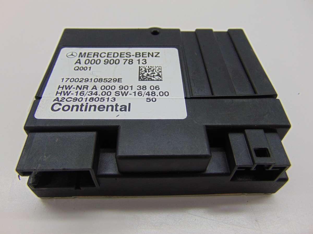 Блок управления ТНВД Mercedes S W222 A0009007813,A0009006612