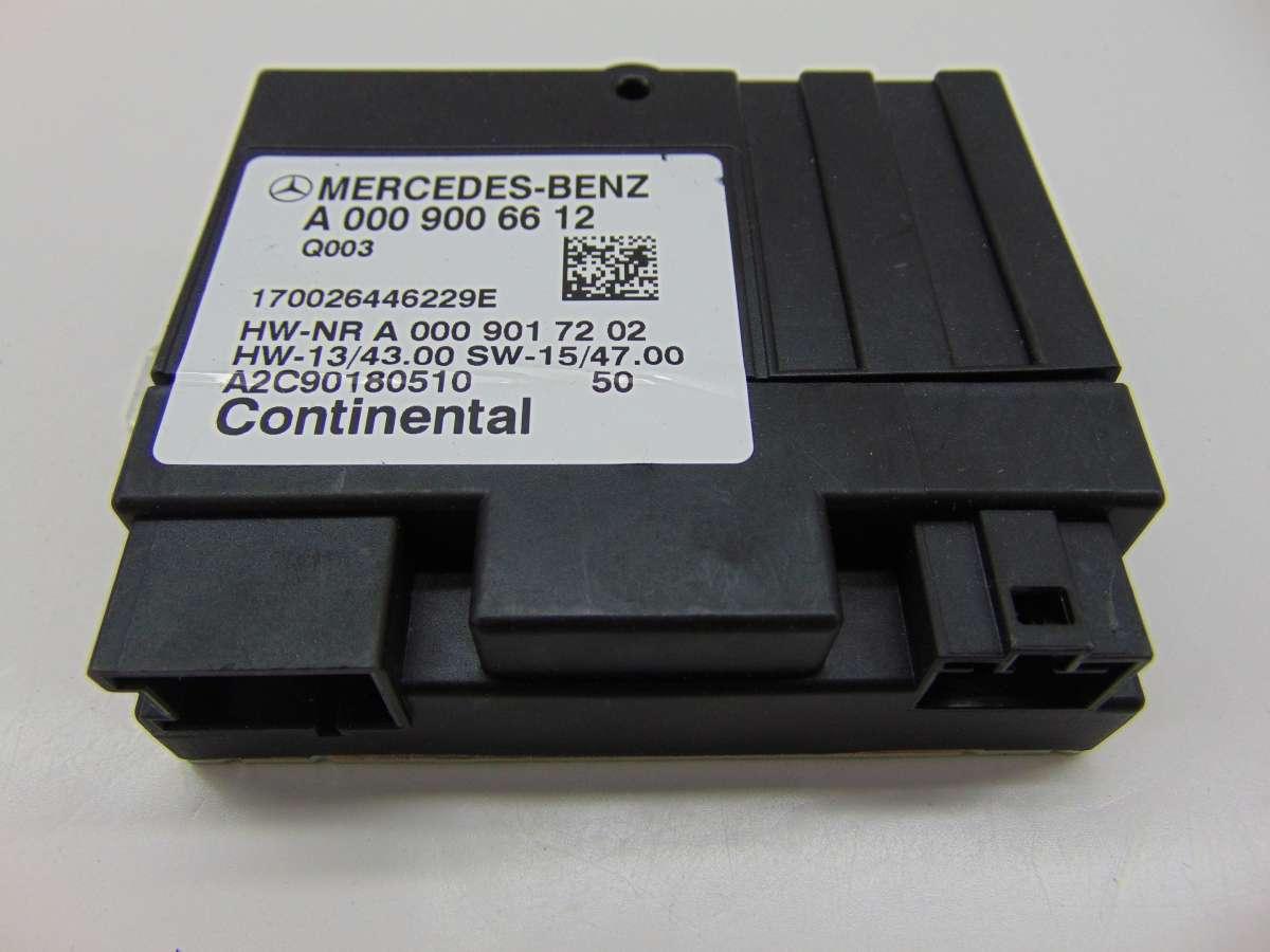 Блок управления ТНВД Mercedes S W222 A0009006612,A0009007813