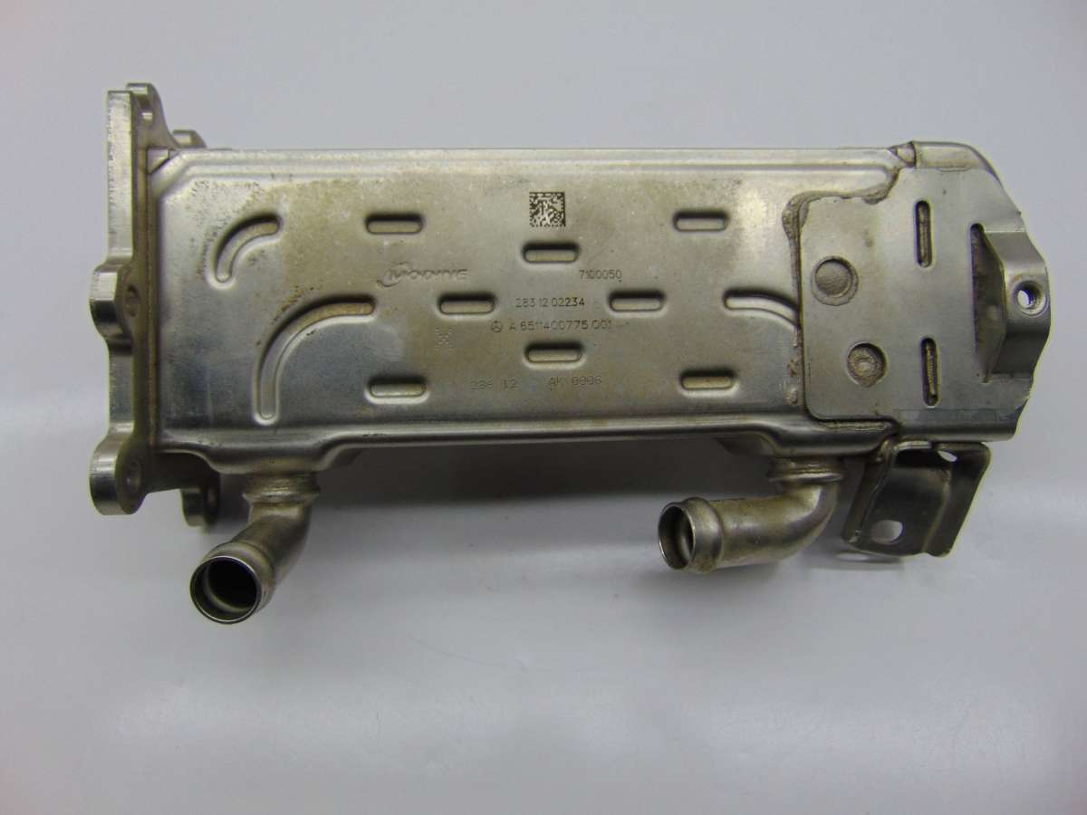 Охладитель отработанных газов Mercedes C W204 A6511400275,A6511400775,A6511400675