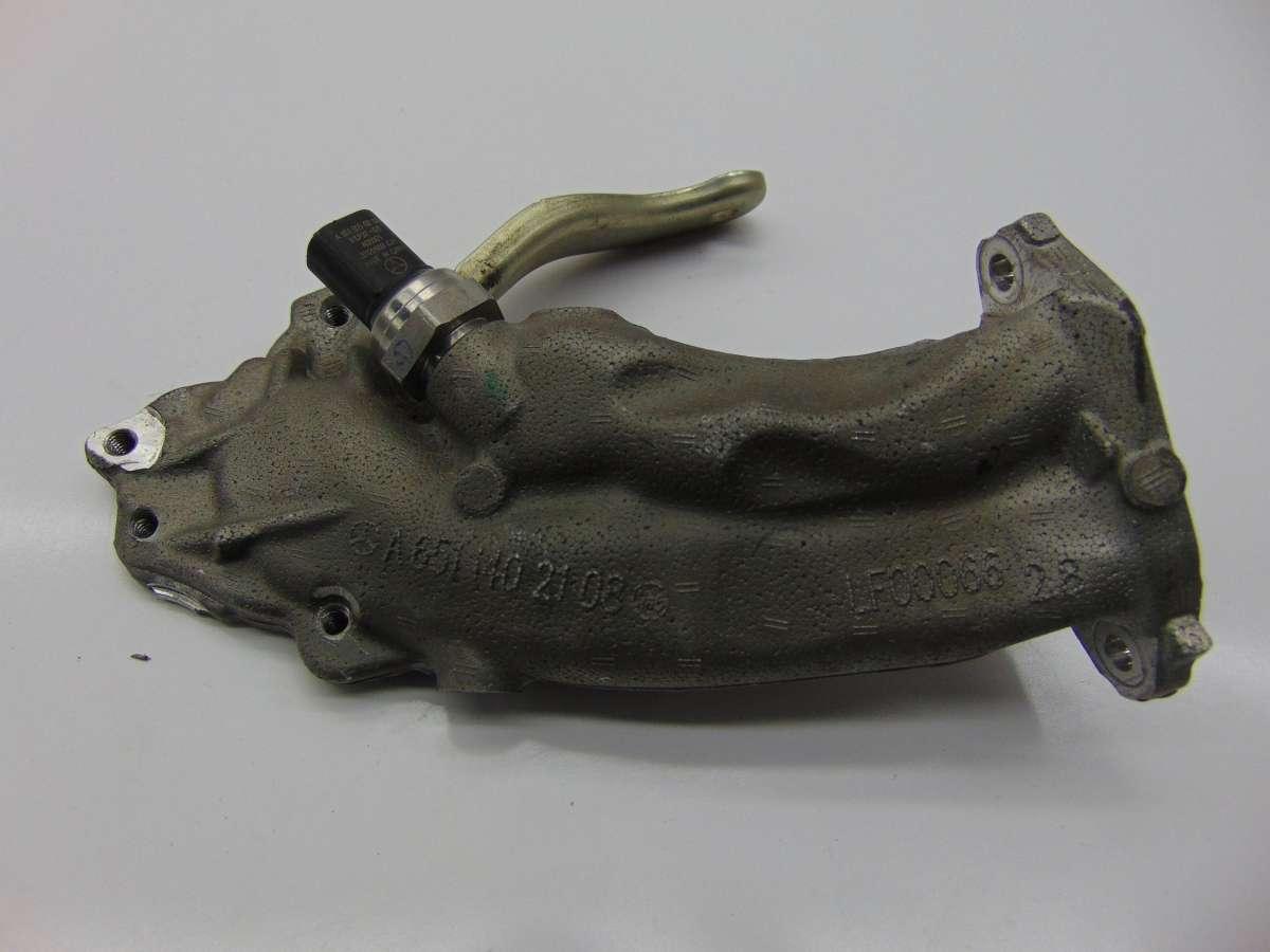 Трубка EGR Mercedes C W204 A6511400508,A6511402108