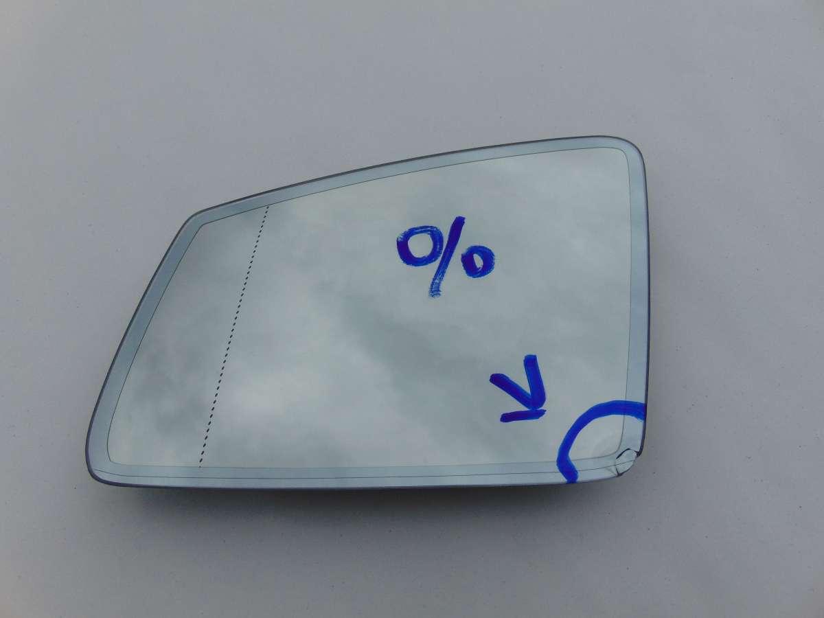 Стекло зеркала левого Mercedes C W204 A2128100321 A2128101821