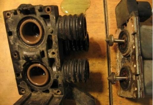 Ремонт клапанов печки БМВ Е34, Е39: ремкомплект, почему не работают